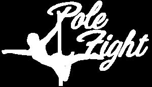 Pole Fight Scuola di Pole Dance a Grosseto Logo Bianco