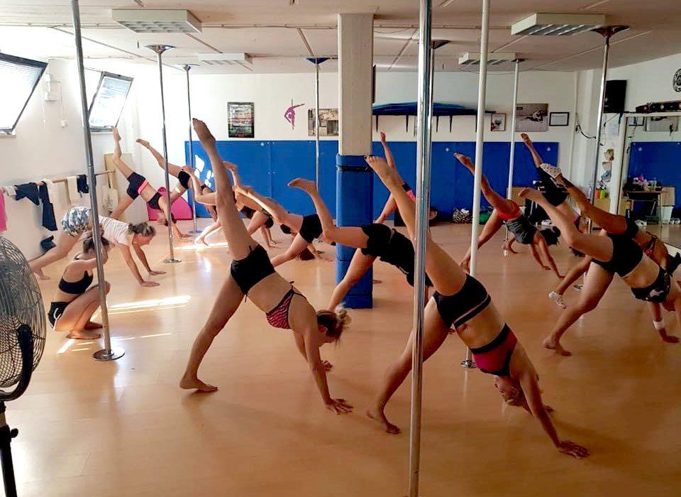 scuola di pole dance grosseto - pole fight