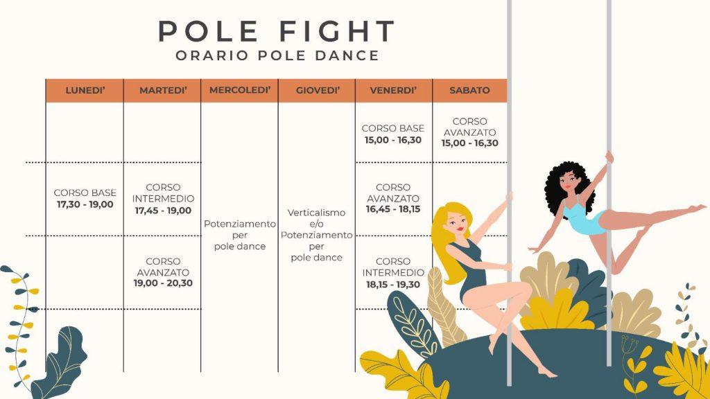 Pole Dance Grosseto Orario 2020.2021